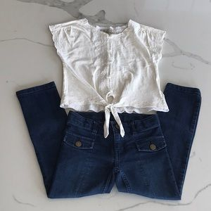Jeans and LUCKY BRAND top